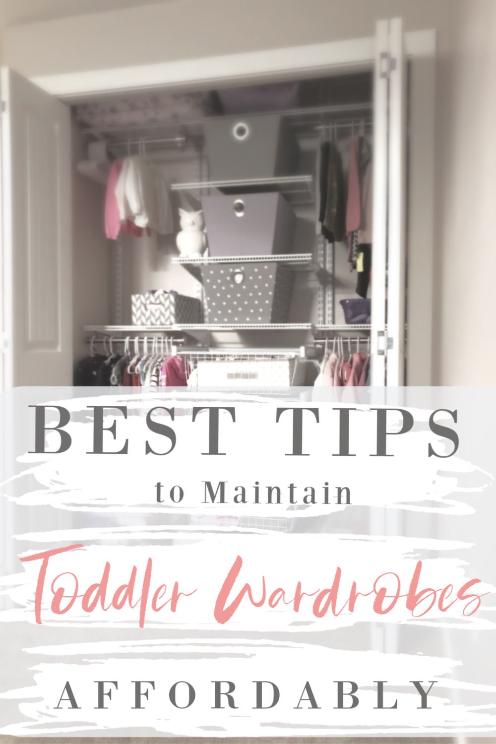 Best tips to affordably maintain a toddler wardrobe