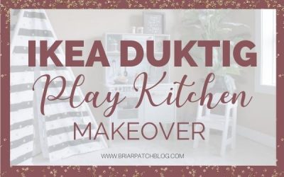 IKEA DUKTIG Play Kitchen Makeover Tutorial