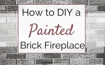 Outdated Exterior Brick Chimney? Easy Modernization Paint DIY!