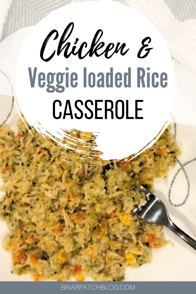 Easy comforting casserole prepared completely in the pressure cooker. Featuring chicken, rice and yummy vegetables.