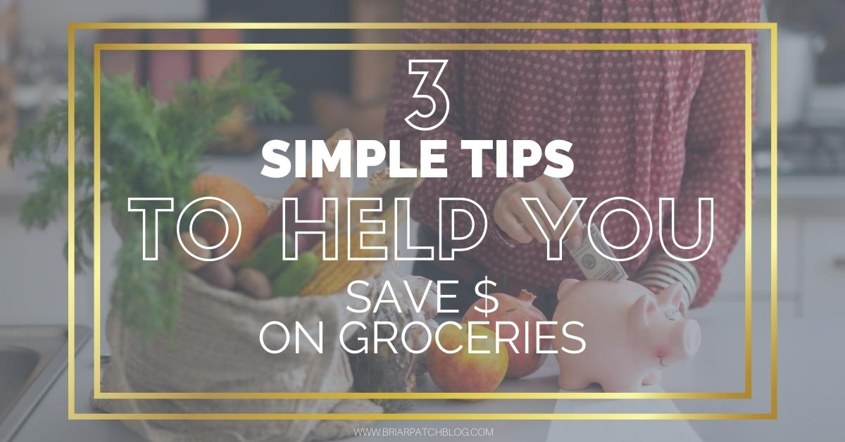 Tips to help you save money on your monthly grocery budget. Simple tips