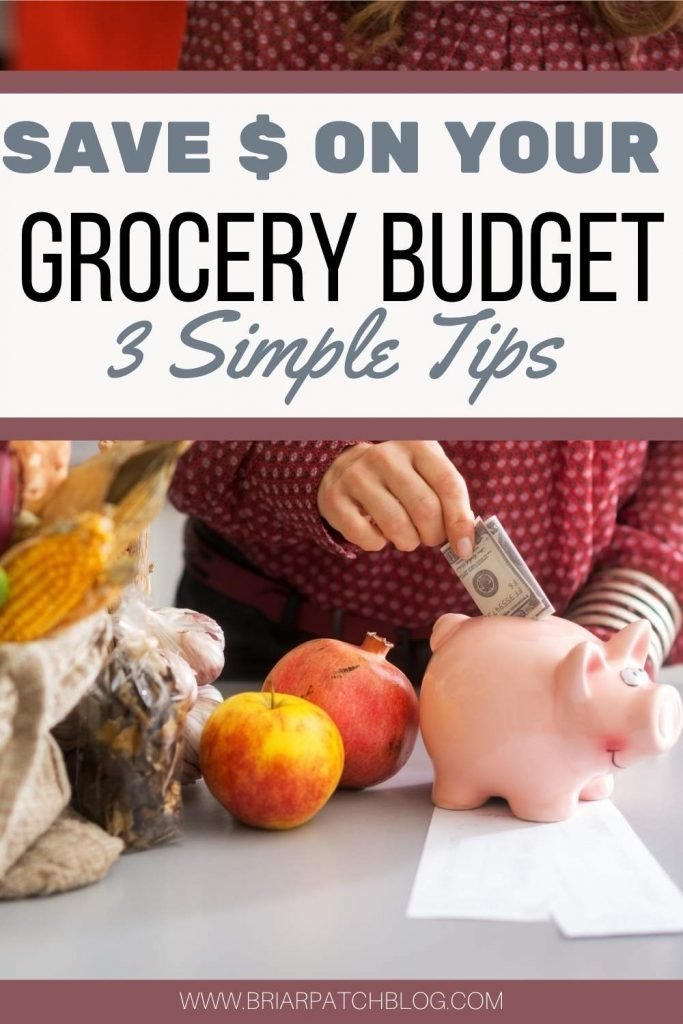 3 practical, simple tips anyone can implement to help save money on your grocery budget NOW!