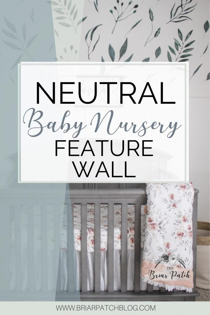 Some neutral baby nursery feature wall inspiration. This guide is full of helpful resources and tips to get ideas for your very own feature wall in your babies nursery.